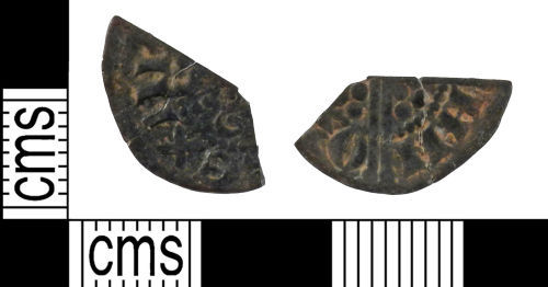 YORYM-D32A40: Medieval Coin : Halfpenny of Henry III