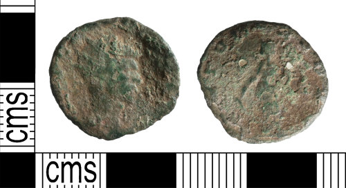 A resized image of Roman Coin ; Radiate of Claudius II