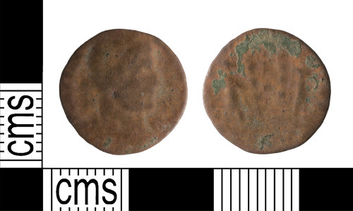 A resized image of Roman Coin : Nummus of the House of Constantine
