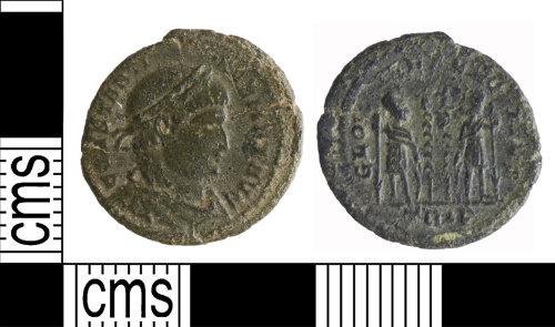 YORYM-EF3EE6: Roman Coin : Nummus of Constantine I