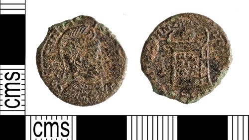 YORYM-CB8AC4: Roman Coin : Nummus of Constantine I
