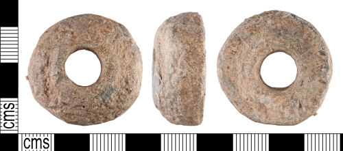YORYM-CC8D64: Medieval : Spindle Whorl