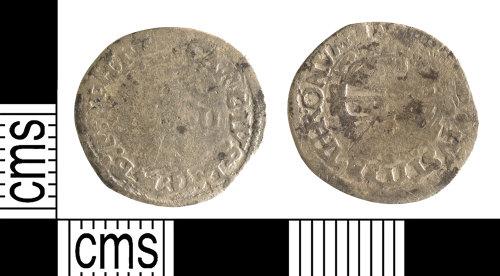 YORYM-40491B: Post-Medieval Coin : Halfgroat of Charles I