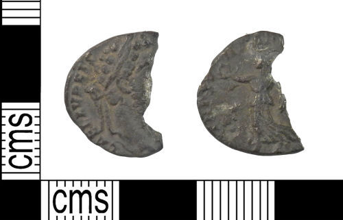 A resized image of Roman Coin : Denarius of Commodus as Augustus