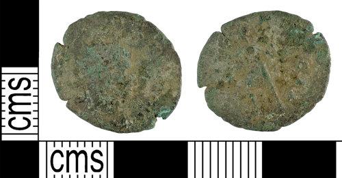 YORYM-19FBFB: Roman Coin : Radiate of Quintillas