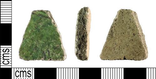 YORYM-BFA140: Medieval : Vessel Sherd