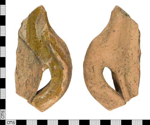 YORYM-DA2A9A: Medieval : Vessel Sherd