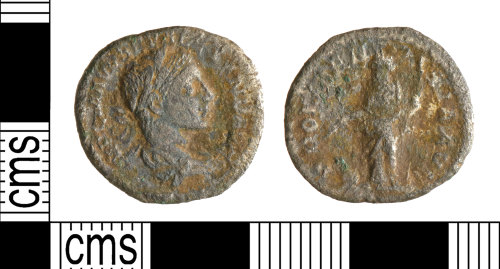 A resized image of Roman Coin : Denarius of Severus Alexander
