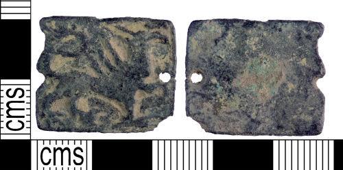 YORYM-066D9E: Medieval : Buckle Plate