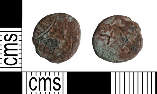 YORYM-AE847B: Roman Coin : Barbarous radiate copying an uncertain emperor