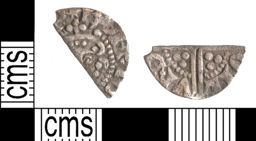YORYM-03640A: Medieval Coin : Cut halfpenny of Henry III