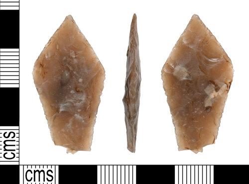 YORYM-7C6A9E: Neolithic : Leaf-shaped arrowhead