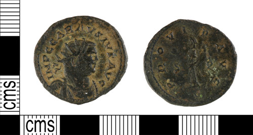 YORYM-6CD835: Roman Coin : Radiate of Carausius