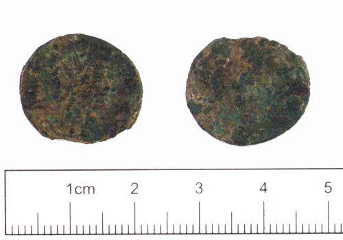 YORYM-0FC897: Roman Coin : Radiate of Divvs Clavdivs II