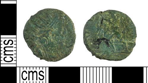 YORYM-87EDD4: Roman Coin : Radiate of Postumus