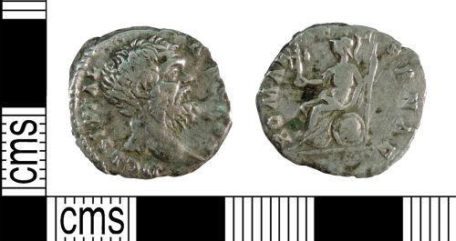 A resized image of Roman Coin : Denarius of Clodius Albinus