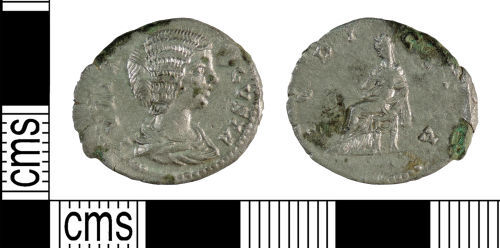 YORYM-3122D5: Roman Coin : Denarius of Julia Domna