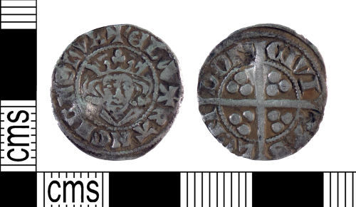 YORYM-AA2C03: Medieval Coin : Penny of Edward I