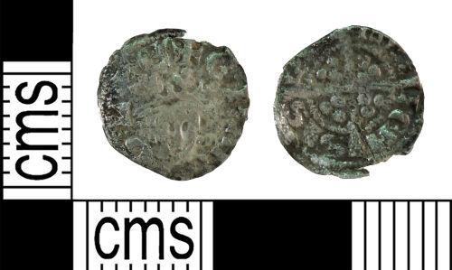 YORYM-AB7FB2: Medieval Coin : Farthing of Edward I