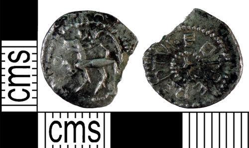 YORYM-ACF617: Early-Medieval Coin : Sceat of Eadberht