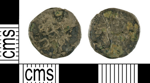 YORYM-EB5FCD: Early Medieval Coin : Sceat of King Eadberht of Northumbria