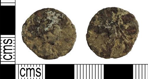 YORYM-6026E6: Roman Coin : Contemporary copy denarius probably of Julia Domna