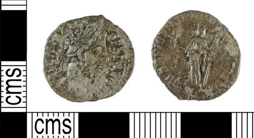 A resized image of Roman Coin : Denarius of Commodus