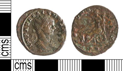 YORYM-D7346B: Roman Coin : Radite of Aurelian