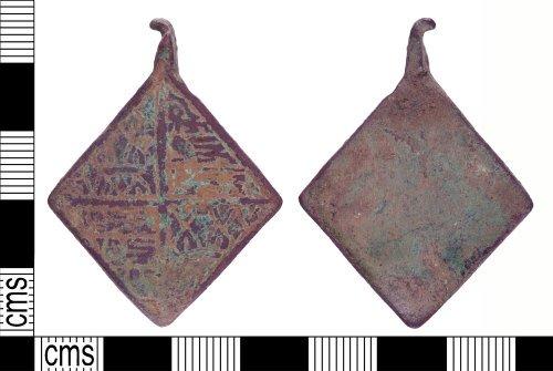 YORYM-6A6B1E: Medieval : Harness Pendant