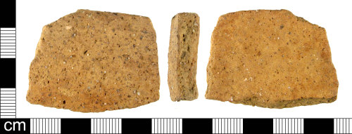 A resized image of Fragment of Iron Age pottery.