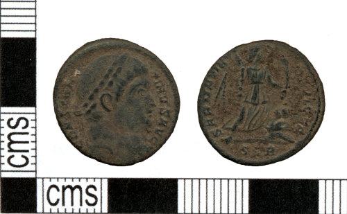 DOR-01C275: Roman coin: Nummus of Constantine I