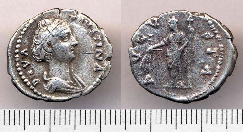 SOMDOR-16DC95: 16DC95. Silver denarius.