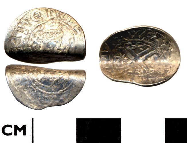 DOR-193334: 193334. Medieval coin: Scottish penny of William