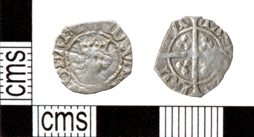 DOR-20F288: Medieval Coin: Halfpenny of Edward IV (first reign)