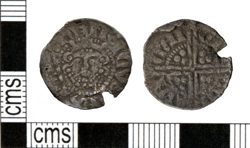 DOR-4476FA: Medieval coin: Long cross penny of Henry III