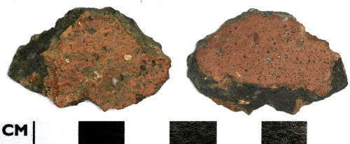 DOR-4B1815: 4B1815. Pottery sherd from a vessel of late Bronze age to early Iron Age date