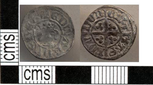 DOR-522B52: Medieval coin: Halfpenny of Edward III