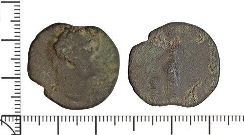 DOR-556944: Roman coin: As of probable Flavian date