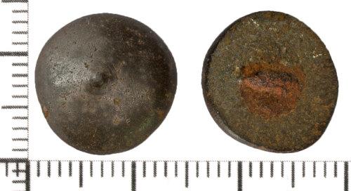 DOR-59AF66: Post Medieval button
