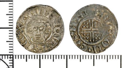 DOR-83A75C: Medieval coin: Short cross penny of John