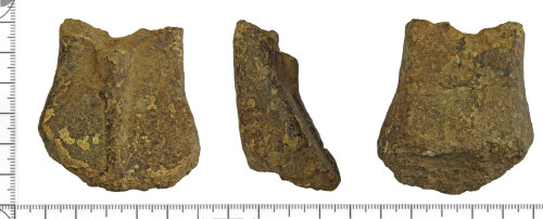 DOR-AC03DE: Medieval to Post Medieval vessel leg