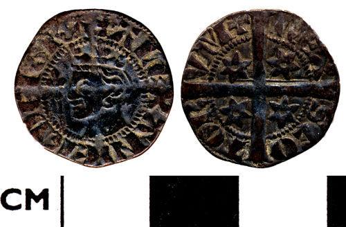 DOR-AF5F65: Medieval coin: Penny of Alexander III of Scotland