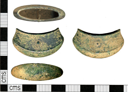 DOR-BD9AED: Bronze Age chape