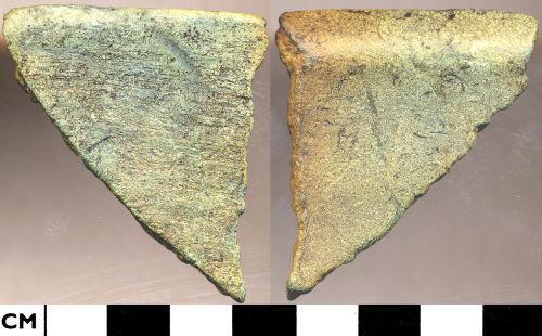 DOR-BF5356: BF5356. Medieval to post medieval vessel rim