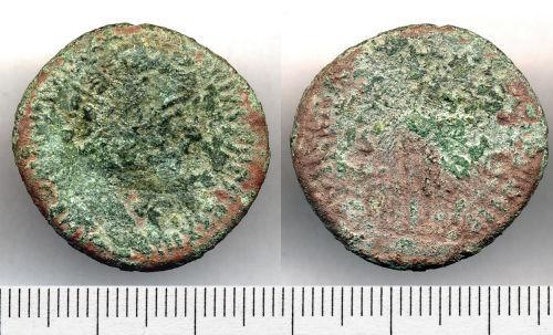 SOMDOR-ECCC91: ECCC91. Dupondius of Antoninus Pius