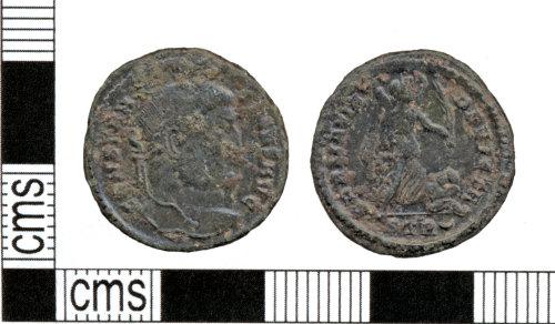 SOMDOR6: Roman coin: Nummus of Constantine I
