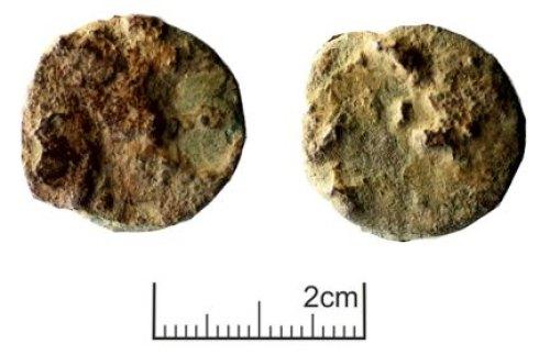 PUBLIC-05730D: Roman coin; dupondius or as of an uncertain ruler