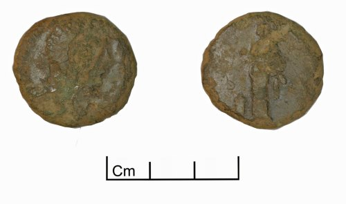 PUBLIC-DDD9D3: Sestertius of Marcus Aurelius as Augustus