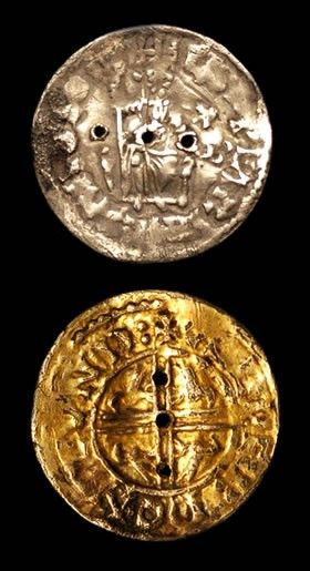 A pierced coin, declared not Treasure but considered