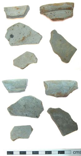 A resized image of Roman Pot Sherds Grey Ware